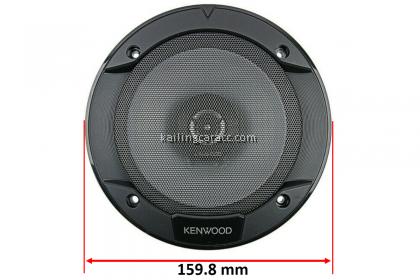 Kenwood KFC-S1666 2-Way Speaker